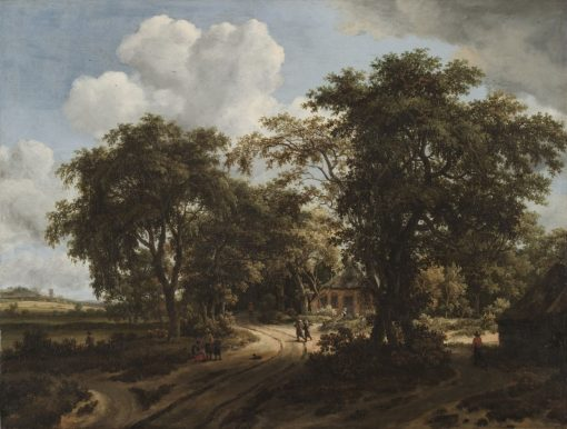 A Cottage in the Woods | Meindert Hobbema | Oil Painting