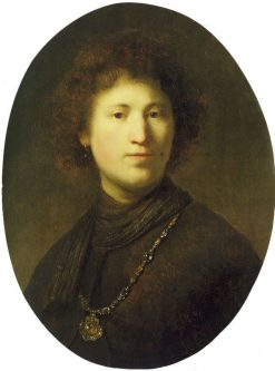 Portrait of a Young Man | Rembrandt van Rijn | Oil Painting