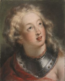 Head of a Woman   Rosalba Carriera   Oil Painting
