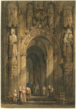 Interior of a Cathedral | Samuel Prout | Oil Painting