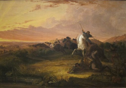 Buffalo Hunt | Seth Eastman | Oil Painting