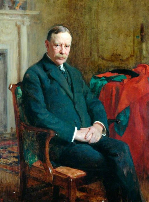 Sir Swire Smith (1842-1918) | Solomon Joseph Solomon | Oil Painting