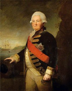 Admiral Sir Edward Hughes | Sir Joshua Reynolds | Oil Painting