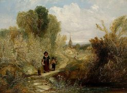 Landscape with Figures | William James Muller | Oil Painting