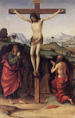 The Crucifixion | Francesco Francia | Oil Painting