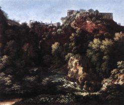 A View of Tivoli | Gaspard Dughet | Oil Painting