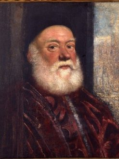 Portrait of an Elderly Man | Tintoretto | Oil Painting