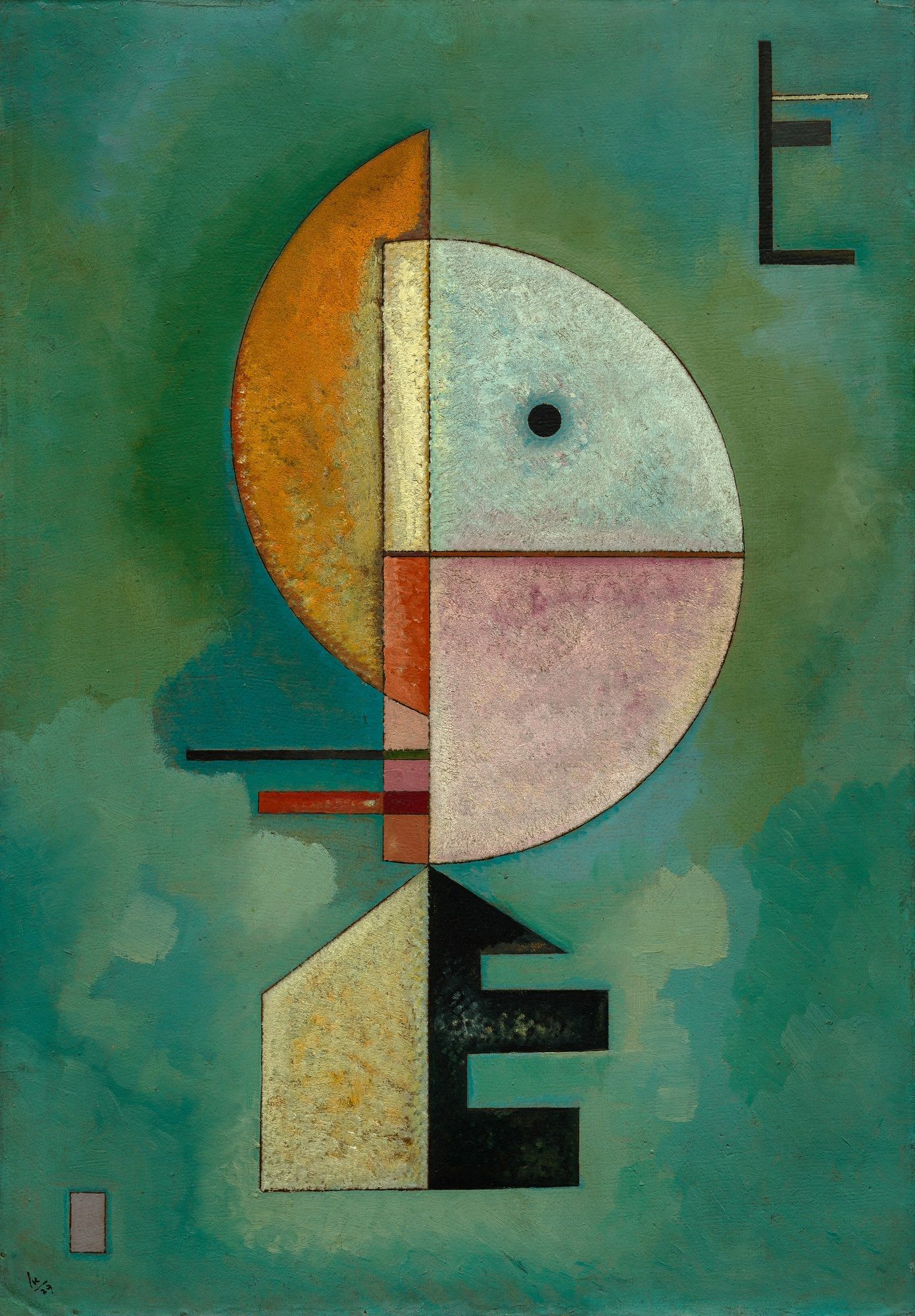 Upward | Wassily Kandinsky | Oil Painting