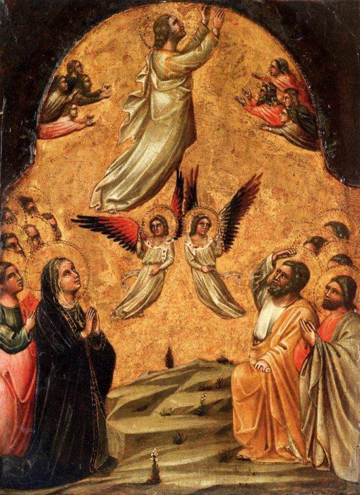 The Ascension of Christ | Guariento di Arpo | Oil Painting