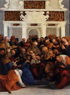 Circumcision | Ludovico Mazzolino | Oil Painting