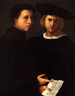 Portrait of Two Friends | Pontormo | Oil Painting