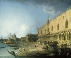 View of the Molo in Venice | Canaletto | Oil Painting