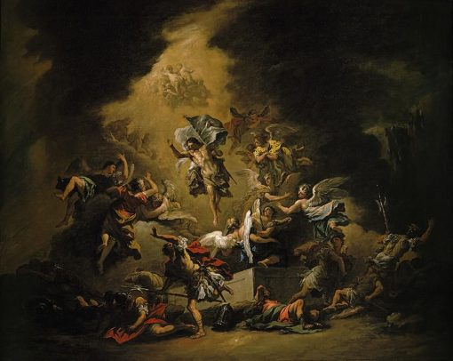 Christ Resurrected Surrounded by Angels | Sebastiano Ricci | Oil Painting