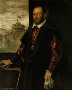 A Gentleman of the Emo? Family (possibly a Member of the Contarini Family) | Tintoretto | Oil Painting