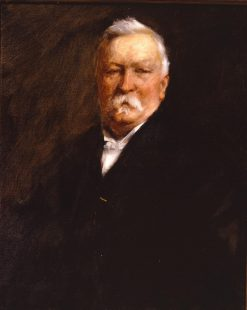 Dr Benjamin Taylor | William Merritt Chase | Oil Painting