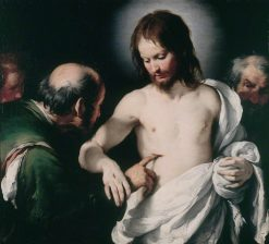The Incredulity of Saint Thomas | Bernardo Strozzi | Oil Painting