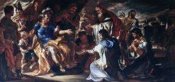 Priam in the Tent of Achilles | Francesco Solimena | Oil Painting