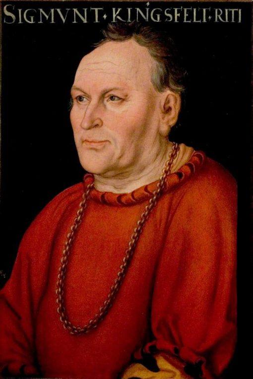 Sigmund Kingsfelt   Lucas Cranach the Elder   Oil Painting