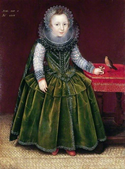 A Boy aged Two | Marcus Gheeraerts the Younger | Oil Painting