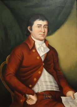 Thomas Corcoran   Charles Peale Polk   Oil Painting