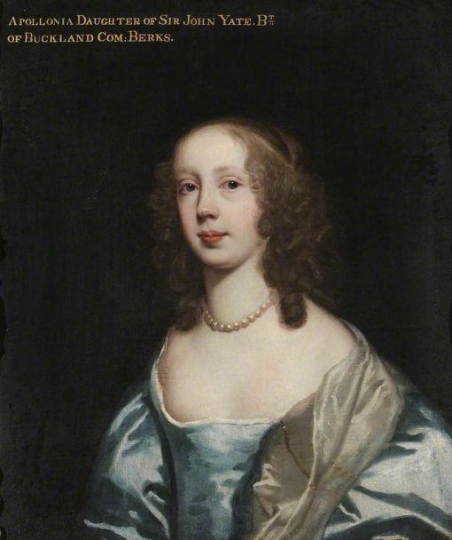 Apollonia Yate   Peter Lely   Oil Painting
