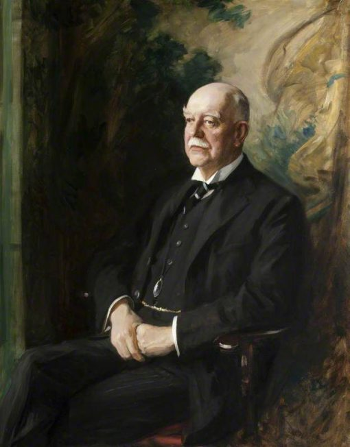 William Henry Armstrong Fitzpatrick Watson-Armstrong (1863-1941)   George Harcourt   Oil Painting