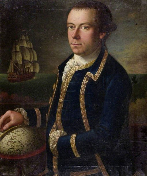 Portrait of the Captain of a Merchant Ship | Tilly Kettle | Oil Painting