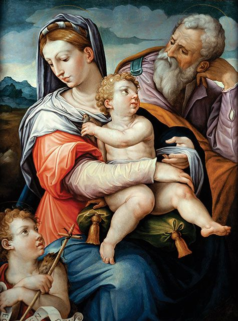 The Holy Family with the Infant