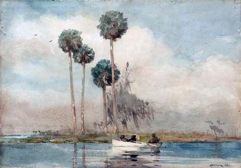 The White Rowboat