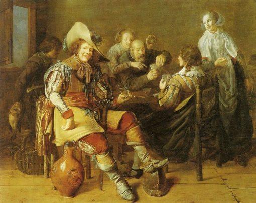 Cardplayers | Jan Miense Molenaer | Oil Painting
