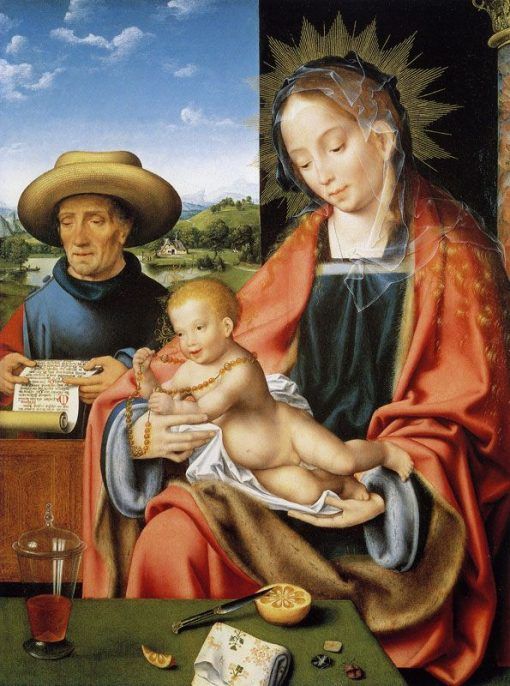 Holy Family | Joos van Cleve | Oil Painting