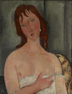 Portrait of a Young Woman | Amedeo Modigliani | Oil Painting