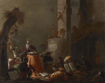 College of Animals | Cornelis Saftleven | Oil Painting
