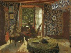 Interieur | Edouard Vuillard | Oil Painting