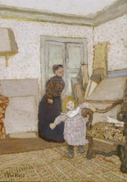 First Steps | Edouard Vuillard | Oil Painting