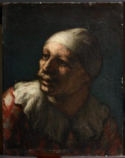 Head of Pasquin | HonorE Daumier | Oil Painting