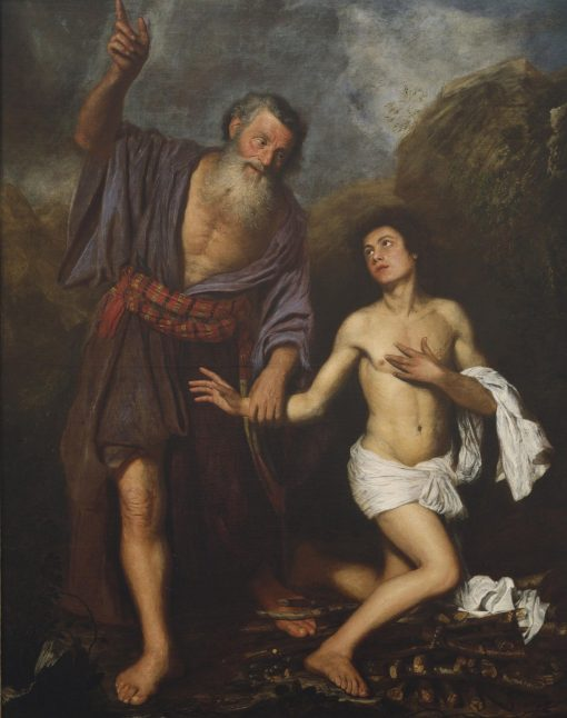The Sacrifice of Isaac | Jan Lievens | Oil Painting