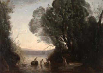 Le bain de Diane (The Bath of Diana) | Jean Baptiste Camille Corot | Oil Painting