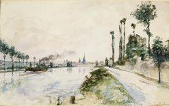 Rouen | Johan Barthold Jongkind | Oil Painting