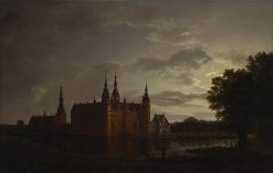 Frederiksborg Castle | Johan Christian Claussen Dahl | Oil Painting