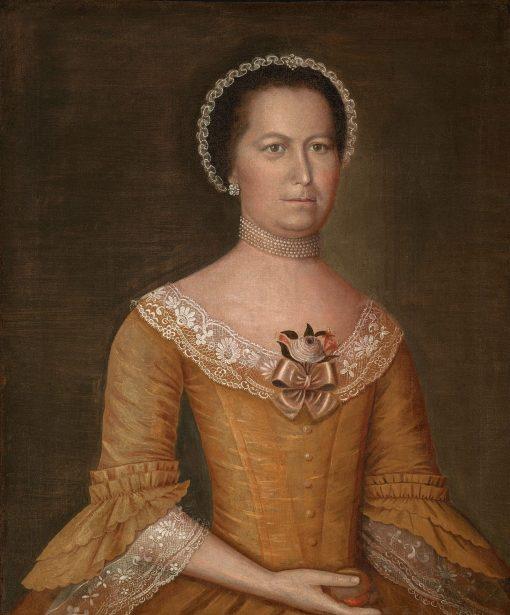 Sarah Badger Noyes (1747-1788)   Joseph Badger   Oil Painting