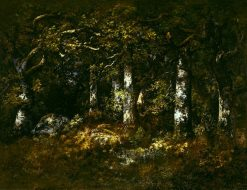 Forest of Fontainbleau | Narcisse Dìaz de la Peña | Oil Painting