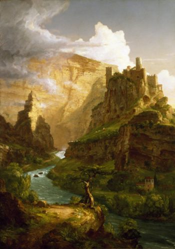 The Fountain of Vaucluse | Thomas Cole | Oil Painting