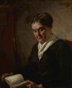 A Woman Reading | Thomas Eakins | Oil Painting