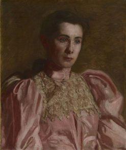 Miss Gertrude Murray | Thomas Eakins | Oil Painting