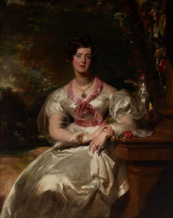 Portrait of the Honorable Mrs. Seymour Bathurst | Thomas Lawrence | Oil Painting