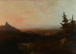 Mountain Scene | Thomas Moran | Oil Painting