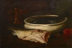 Fish and Still Life | William Merritt Chase | Oil Painting