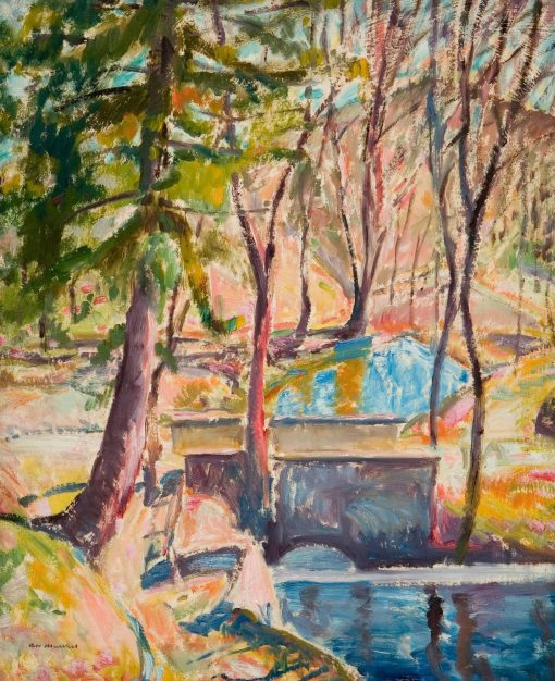 Buckley's Bridge | Alfred Henry Maurer | Oil Painting
