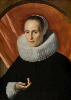Portrait of a Lady | Frans Hals | Oil Painting